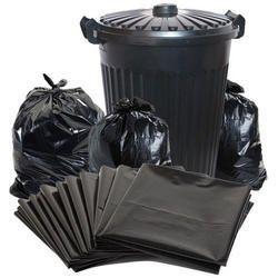 Black DS Flex Disposable Garbage Bags