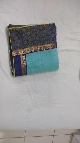 5b9d2c67c03872 Silk Single Chanderi Cotton Kalamkari Saree, Rs 350 /piece | ID ...