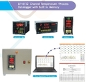 Temperature Process Data Logger 8 Channel Datalog-808