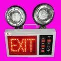 LED Emergency Lights with Exit Sign