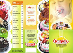 Menu Card Printing Services