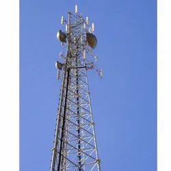 GSM Galvanized Telecom Tower