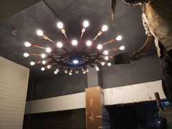 Customised Metal Chandelier