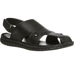 Black Gents Sandals