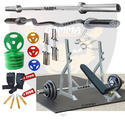 Industrial Olympic Home Gym Combo