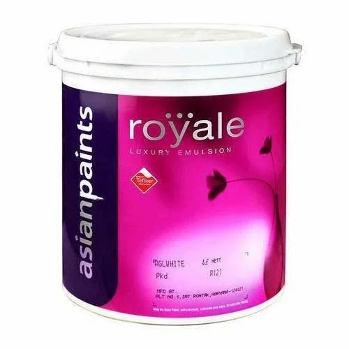 Asian Paints Royale Luxury Emulsion Paint Packaging Size 4 Liter Rs 1850 Bucket Id 18924011633