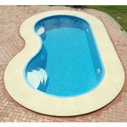 Sky Blue FRP Shaped Swimming Pools