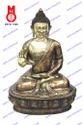 Buddha Sitting Blessing Hand Statue