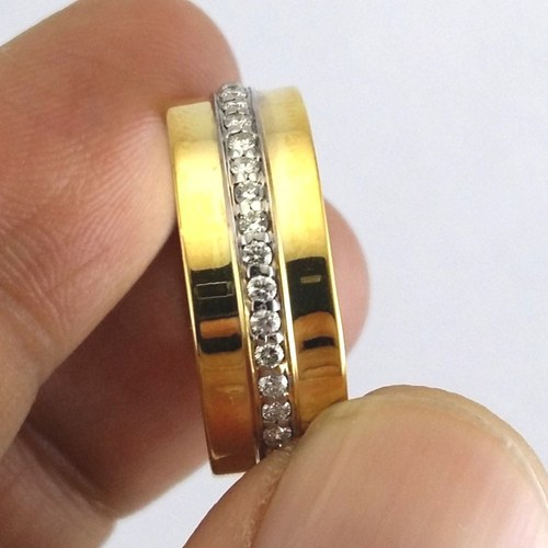14 K Gold Diamond Ring