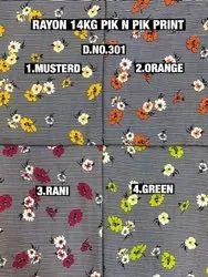 Rayon 14Kg New Prints