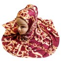 Women's Outdoor Wear Jersey Stretchable Material Digital Printed Hijab Scarf Dupatta