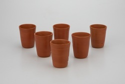 Clay Dinner Glass Set (6 Piece) 250ml