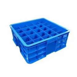 Plastic Bottle Storage Crate