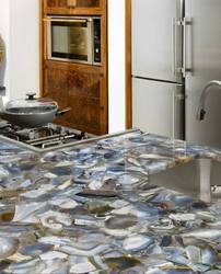 Natural Wild Agate Kitchen Counter