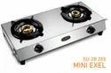 Double Burner Gas Stove SU 2B-205 Mini Excel