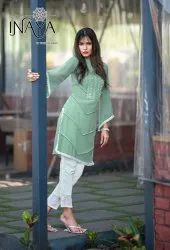 Inaya LPC 48 By Studio Libas Imported Top With Pant Ethnic Collection