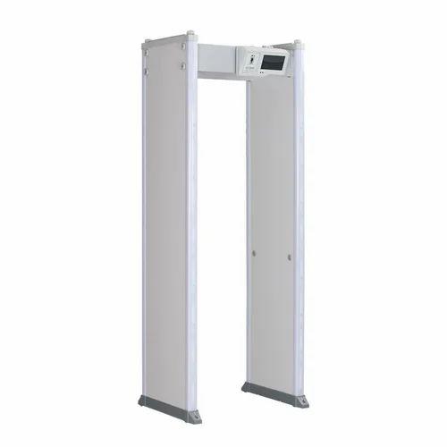 Door Frame Walk Through Metal Detector 24 Alarm Zones Sound