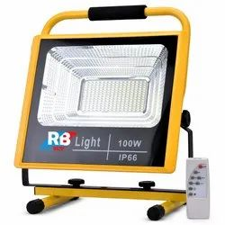 100 Watt Realbuy Rechargeable LED Flood Light 100W with Remote Control - IP66