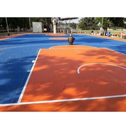 Basketball Court Flooring Service