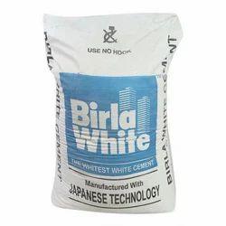 Birla White Cement, Packaging Type: Sack Bag, Bag, Grade: 63