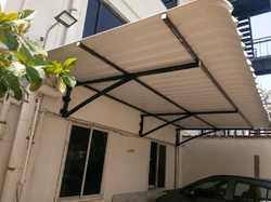 Open Car Parking Shed