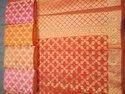 Banarasi Kota Check Saree
