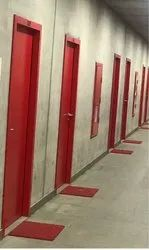 Red hormann Steel Doors, Size/dimension: Mim Size 750 /1500mm, For Commercial