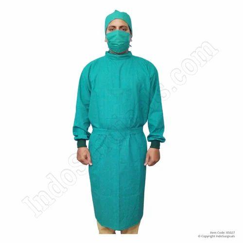 Surgeon Gown, Cotton Reusable, Hospital Scrubs & Linens - Indo ...
