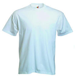 Sublimation White T- Shirt
