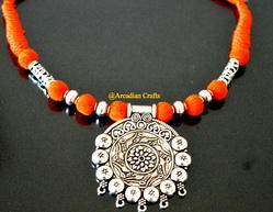 Oxidised German Silver Necklace
