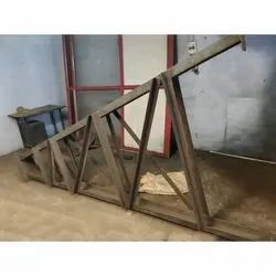 Mild Steel A Frame, Dimension/Size: 5-6 Feet (height)