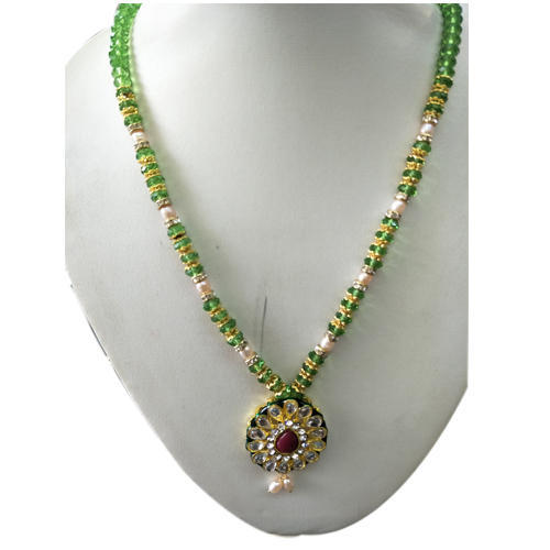 Beaded necklace shree padmini collections beaded necklace aloadofball Image collections
