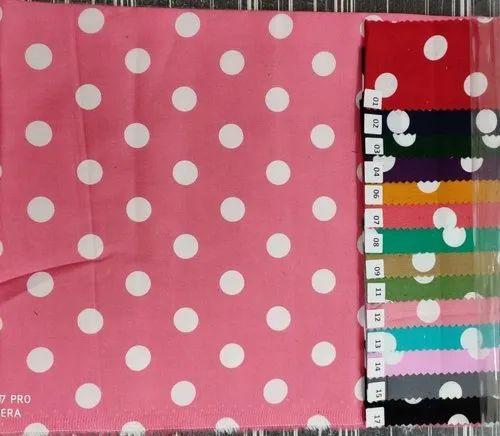 44-45 inch 100% Cotton Satin Printed Fabrics, GSM: 50-100