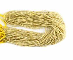 金红石微圆琢面珠子,尺寸:3毫米(约)