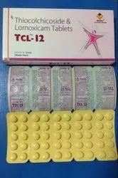 Thiocolchicoside 4 mg & 8 mg