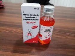 Bitkof LS (Levosalbutamol Sulphate  Ambroxol Hcl Guaiphenesin  Syp