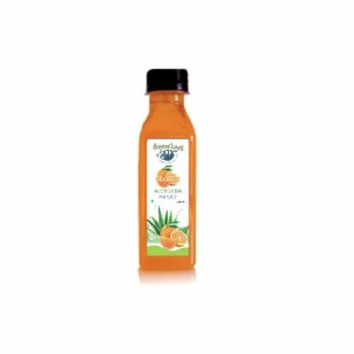225 mL Orange Aloevera Fruit Juice, Packaging Type: Plastic Bottle