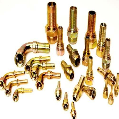 STRP Brass Hose End Fittings, Size: 1/2 inch