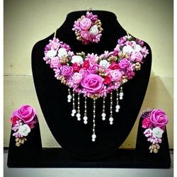 Artificial Floral Jewellery-003