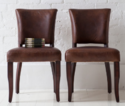 Vintage Leather Dinning Chair
