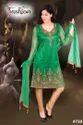 Art Silk Churidar Suit