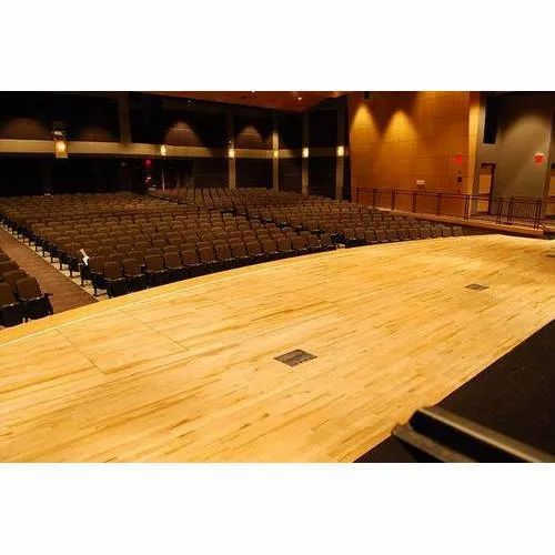 Auditorium Stage Wooden Flooring