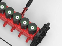 High Quality Steel. Hand Operated Vegetable Seeder, For Agriculture