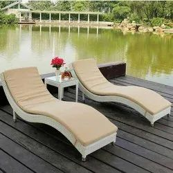 Adjustable Sun Bed Lounger Chair