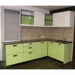 Modular Green Kitchen