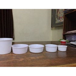 White Plastic Food Container