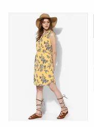 Yellow Long Tops Miaminx