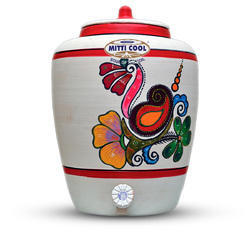 15 Liter Earthen Water Pot