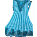 Ladies Blue Georgette Designer Suit