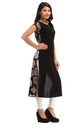 Cottinfab Women's Floral Printed Kurta